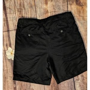 🔥Croft & Barrow Mens size 34 Black Casual Shorts
